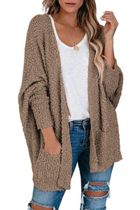 🔥50%OFF Free Shipping🔥Knit Sweater Open Front Cardigan with Pockets