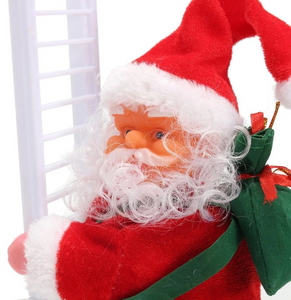 🔥Christmas Hot Sales🔥Electric Climbing Ladder Santa Claus