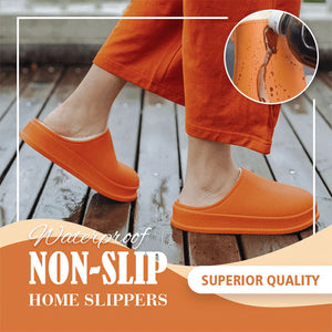 2020 HOT SALE 🔥 Waterproof Non-Slip Home Slippers