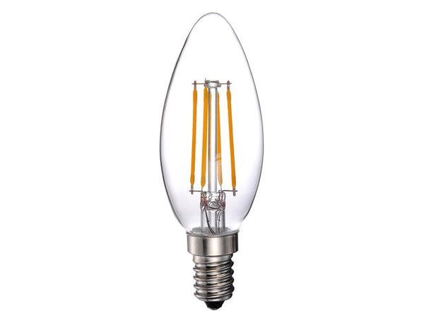 PRO-ELEC 4W LED Candle Filament Lamp E14