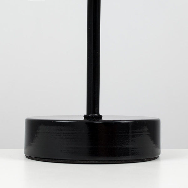 Stick Base Touch Table Lamp With Skyline Cut-Out Shade Gloss
