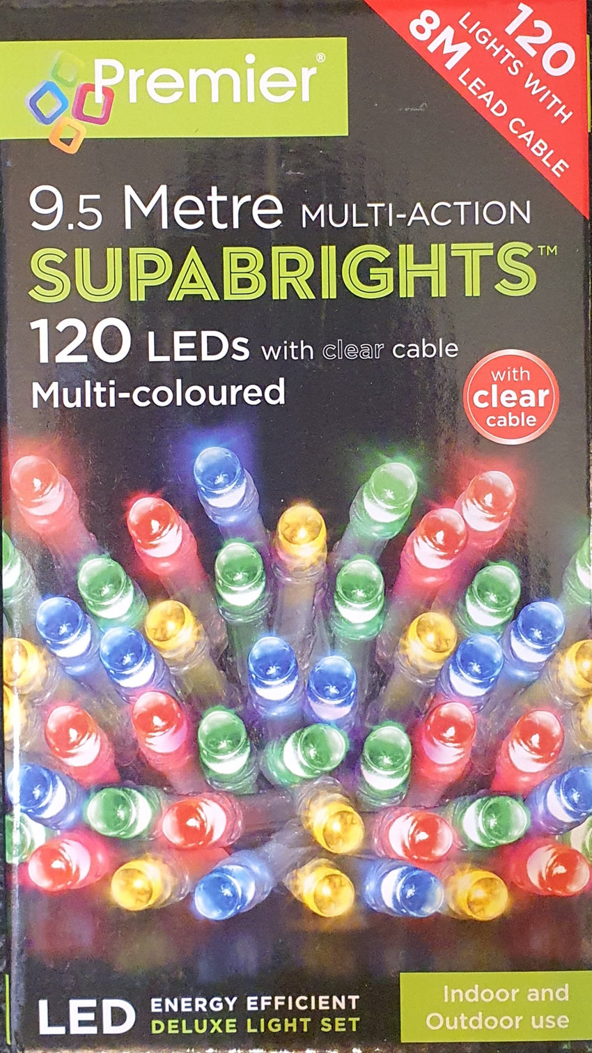 Premier 9.5 Metre Multi-Colored Multi-Action Lights