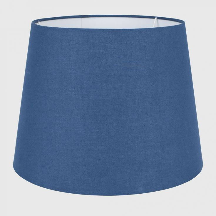 ASPEN LARGE TAPERED SHADE 270MM X 350MM NAVY BLUE