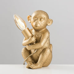 Baby Monkey Table Lamp