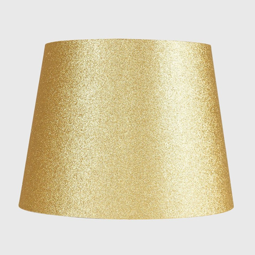 Aspen Large Gold Glitter Tapered Shade