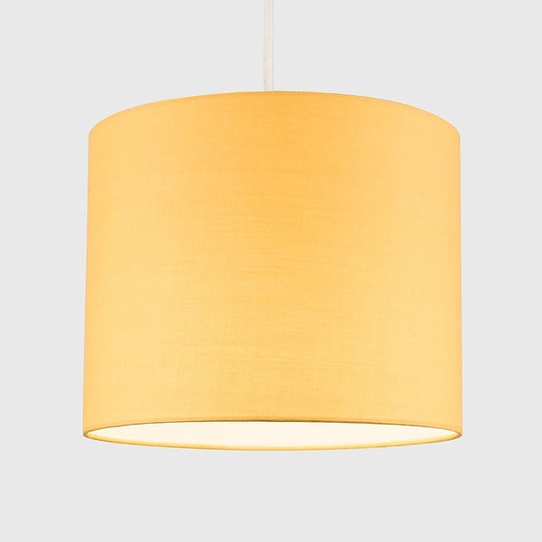 Reni Small Pendant Drum Shade Mustard