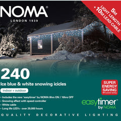 NOMA 240 Snowing Icicle LED Lights