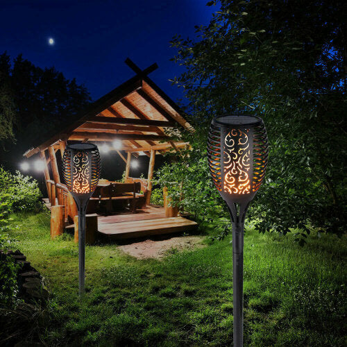 Flickering Flame-Style Garden Solar Lights