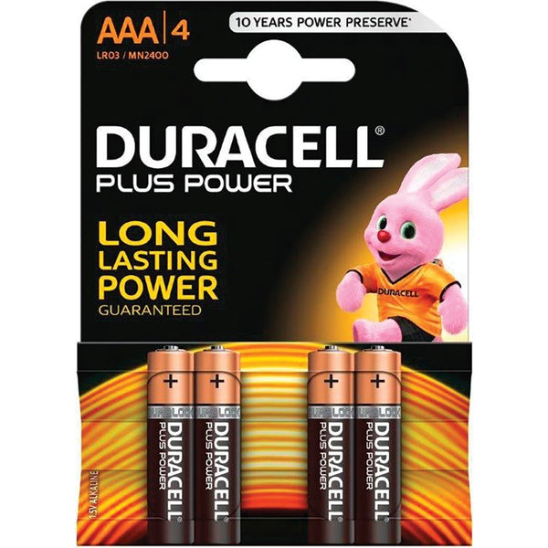 Duracell AAA (4 Pack)