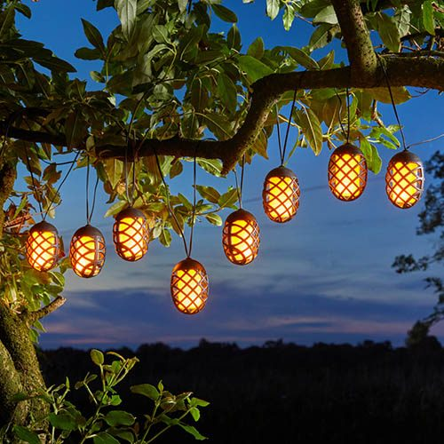 10 Cool Flame String Lights