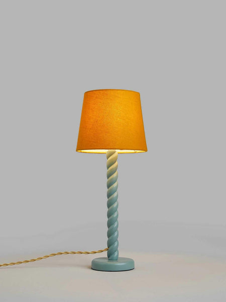 Twist Wooden Table Lamp