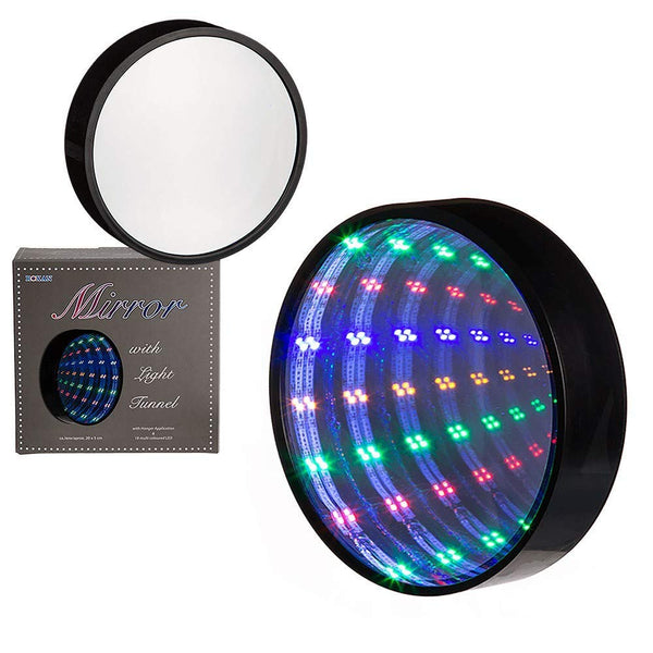 ROXAN MIRROR WITH LIGHT TUNNEL