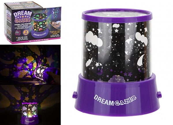 DREAM GAZER PORTABLE STAR PROJECTOR