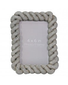 Rope Effect Picture Frame 4x6 in