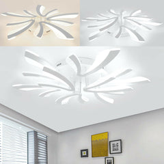 Flower Modern LED Acrylic Ceiling Light Living Room