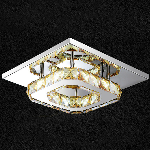 LED Crystal Modern Ceiling Light