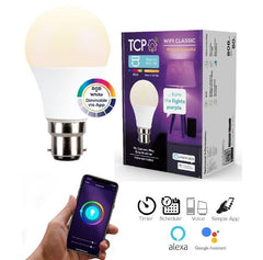 TCP Smart Wifi LED Bulb 9W=60W 2700K