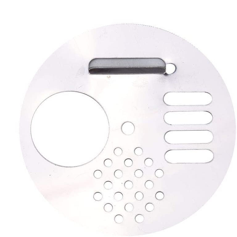 Entry Disc, Stainless Steel