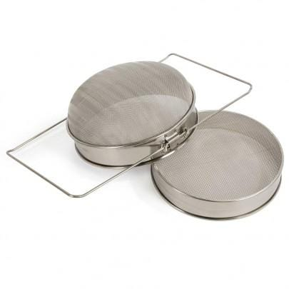 Sieve, Double, steel