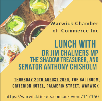 Lunch with Dr Jim Chalmers