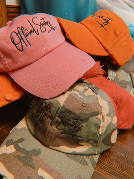 """Live In Color"" Dad hats"