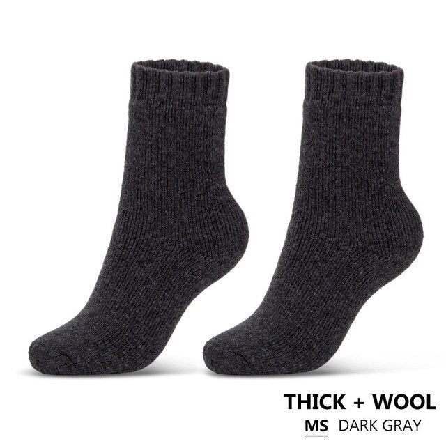 1 Pair Winter Warm Socks - Men's Essential Store