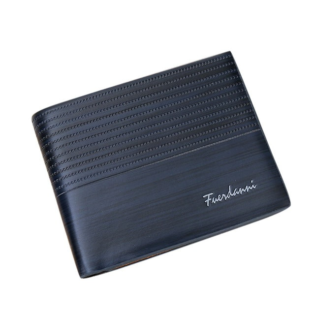 Simple Fashion Casual Leather Wallet - Men's Essential Store