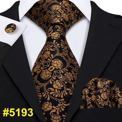 Gold Men Ties - Men's Essential Store