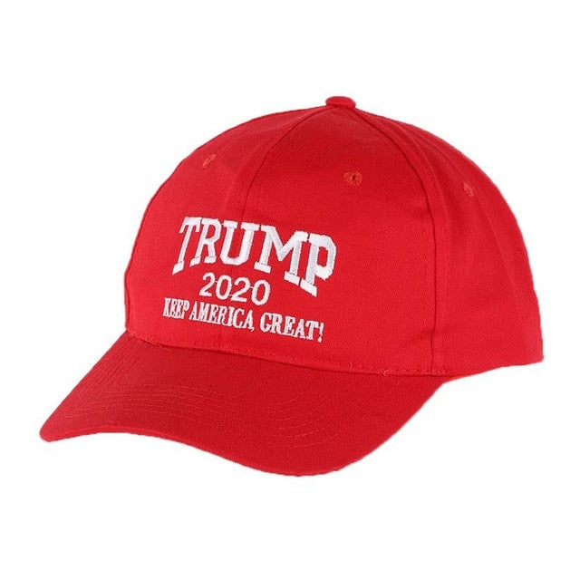 Baseball Cap Washed Embroidered Mesh Hat Headwear Unisex Casual Streewear Donald Trump 2020 US Election Campaign Baseball Cap - Men's Essential Store