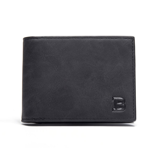 Slim Short Male Wallet - Men's Essential Store