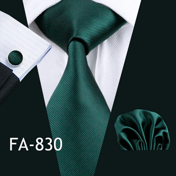 20 Styles Green Ties - Men's Essential Store