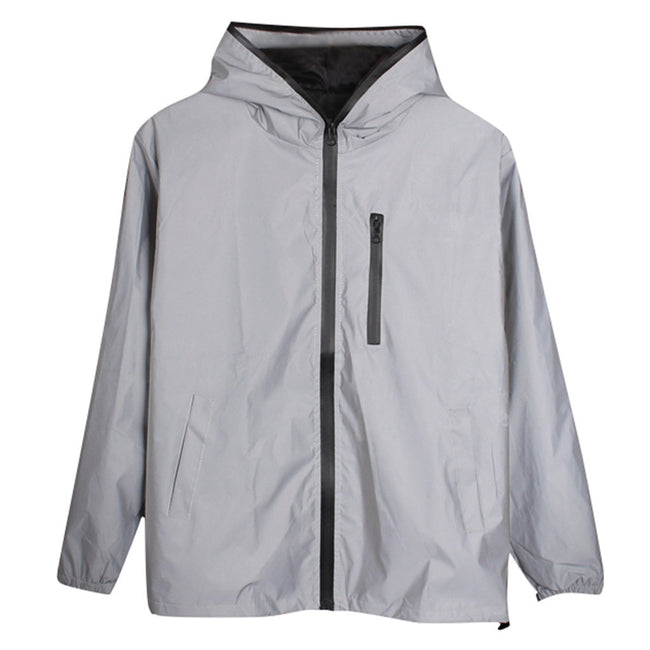 Long Sleeved Reflective Jacket - Men's Essential Store