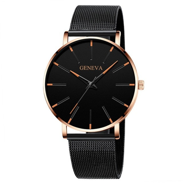 Luxury Quartz Wrist Watch - Men's Essential Store
