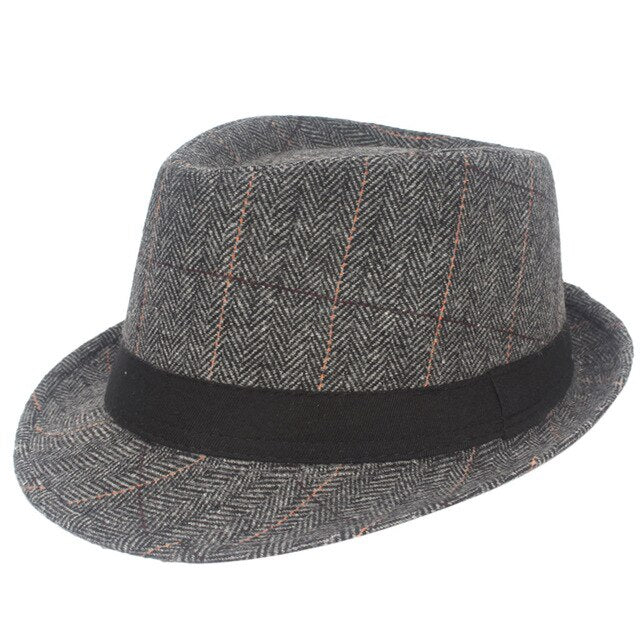 Black Grey Hat - Men's Essential Store
