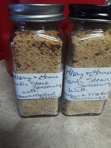 Garlic Steak Seasoning with Bourbon & Montreal Seasonings
