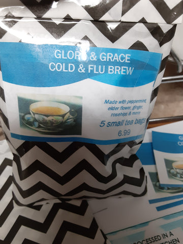 Glory and Grace Cold &Flu Brew/Regular Blend