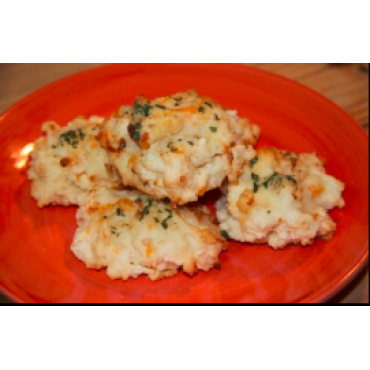 A-Garlic Cheese Biscuits