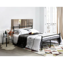 Load image into Gallery viewer, EGGREE PRIMO Single Bed | Double Bed | Metal Bed Base | Black | White