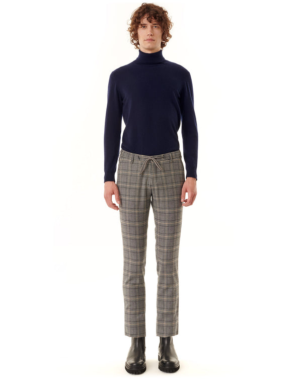Grey plaid sport pants NOWEN