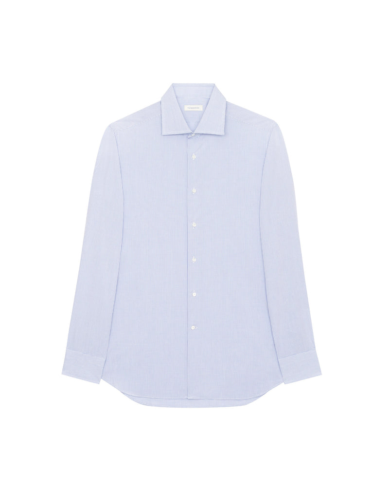 Formal shirt with white micro-tiles FRANCOIS