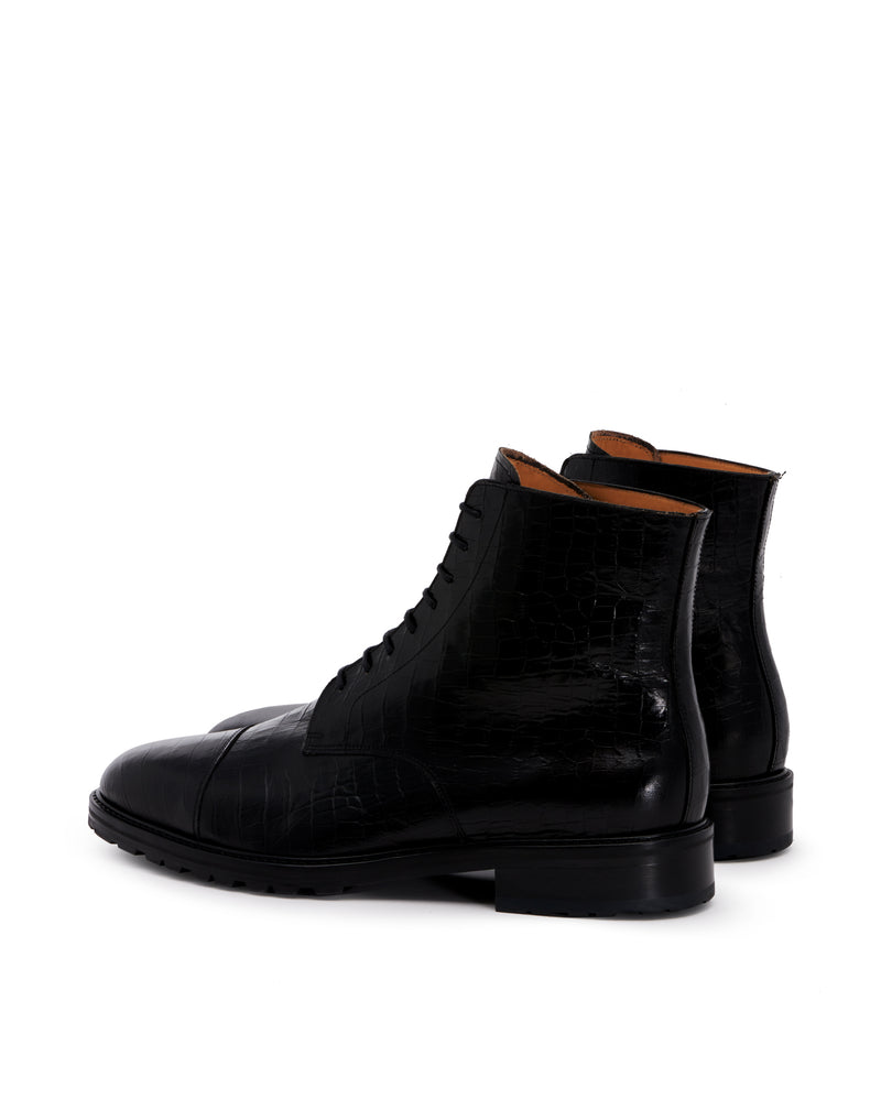 Bottines lacets ORSAY noir
