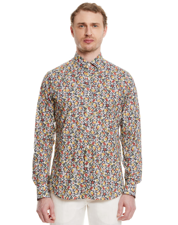 Chemise Casual Regular BERLINO motif floral