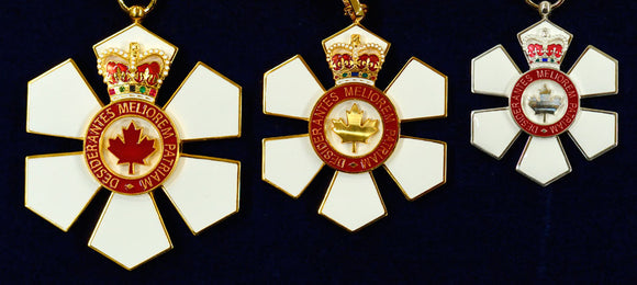 Jacob Switzer Invested into the Order of Canada-December 11, 2017
