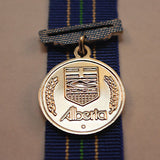 Alberta Law Enforcement 25 Year Long Service Medal, Miniature