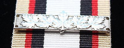 Canadian Multiple Rotation Bar, Silver 5 Maple Leaf, Reproduction