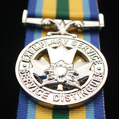 Canadian Exemplary Service Medal, Peace Officer, Reproduction