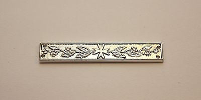 St John Service Medal Long Service Bar, Silver, Full Size Reproduction