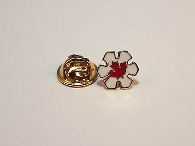 Lapel Pin, Order of Canada, Companion (Red Leaf)