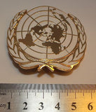 United Nations Metal Hat Badge