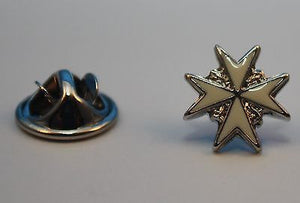 Lapel Pin, Order of St John, Officer (OSTJ/CSTJ/ChStJ)